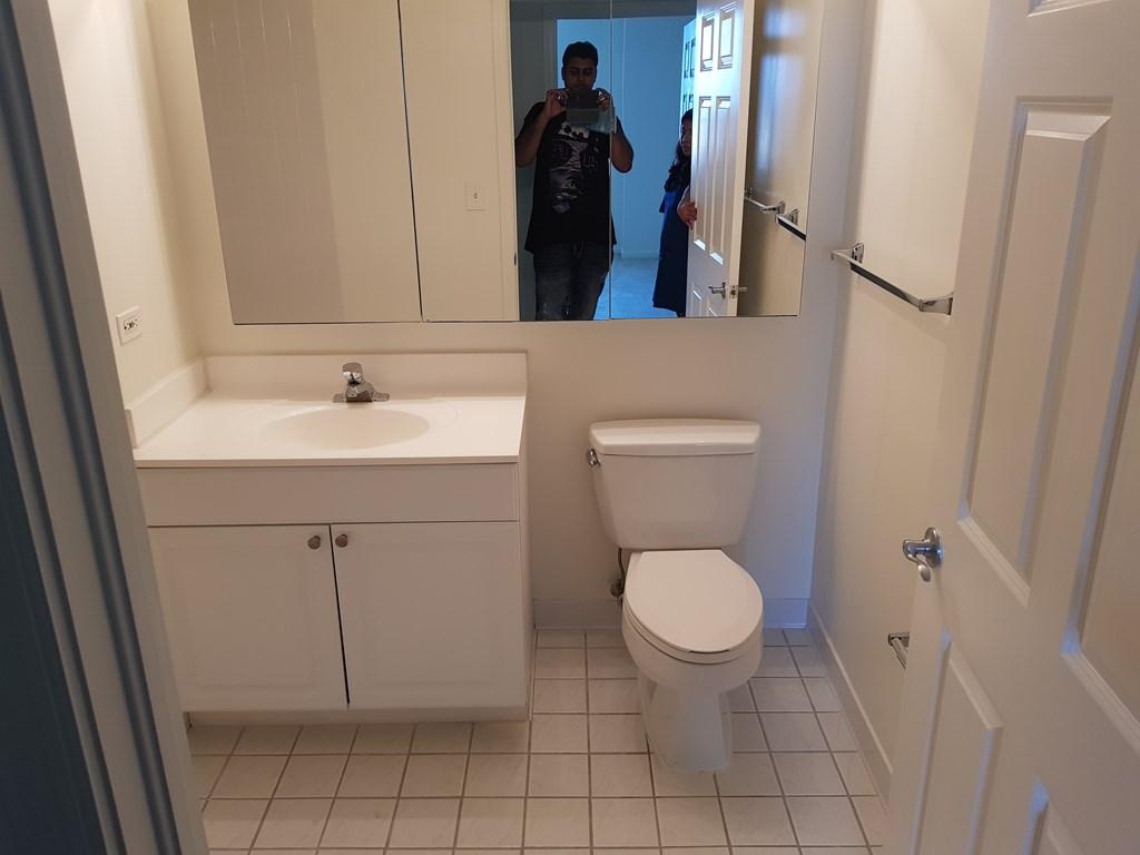 Tripura village bathroom changing